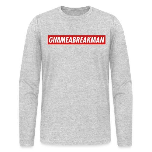 break - Men's Long Sleeve T-Shirt by Next Level