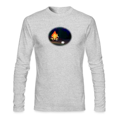 'Round the Campfire - Men's Long Sleeve T-Shirt by Next Level