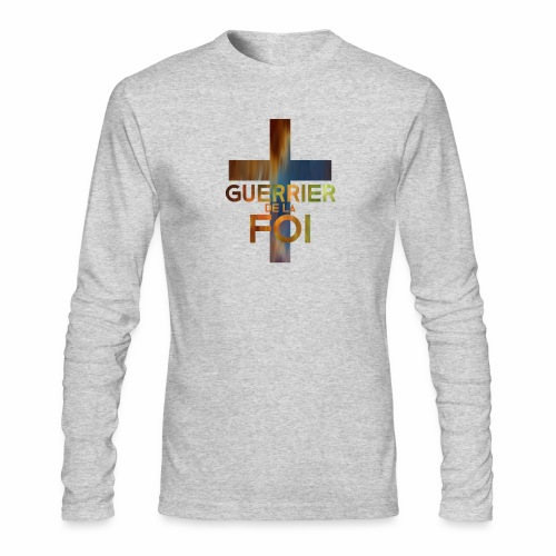 WARRIOR OF FAITH - Men's Long Sleeve T-Shirt by Next Level