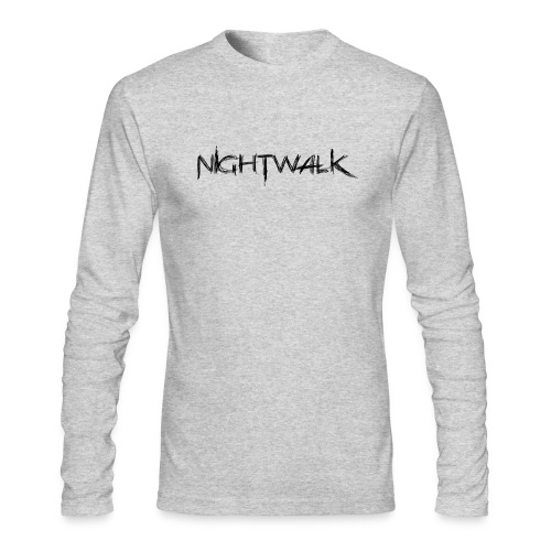 Nightwalk Logo - Men's Long Sleeve T-Shirt by Next Level