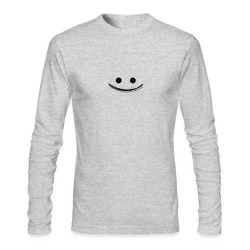 Smile - Men's Long Sleeve T-Shirt by Next Level