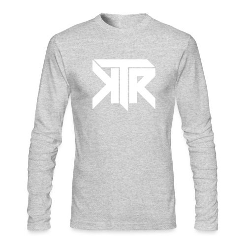 KTR Logo White - Men's Long Sleeve T-Shirt by Next Level