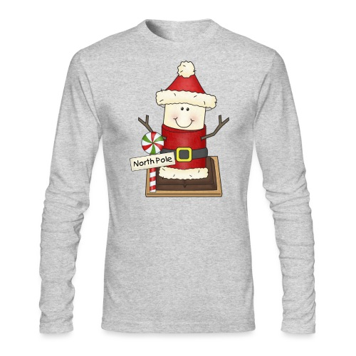Christmas Smore2 png - Men's Long Sleeve T-Shirt by Next Level