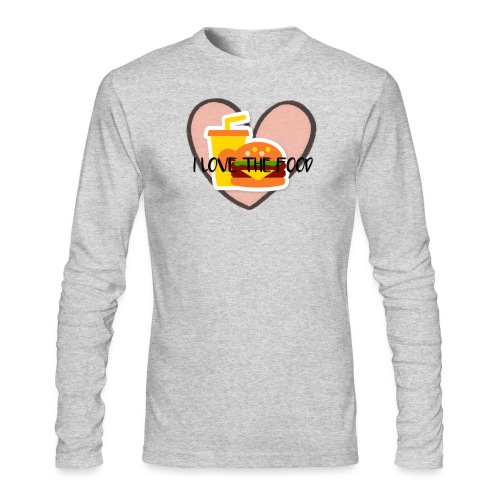 Food - Men's Long Sleeve T-Shirt by Next Level