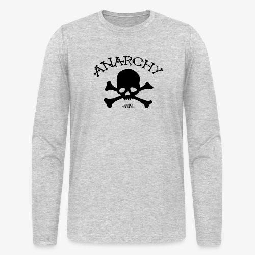 Anar Skull black - Men's Long Sleeve T-Shirt by Next Level