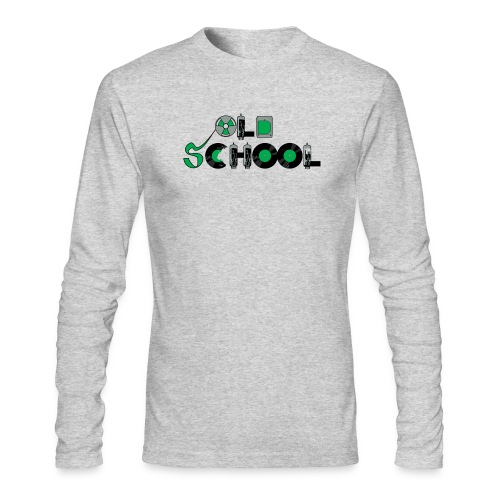 Old School Music - Men's Long Sleeve T-Shirt by Next Level