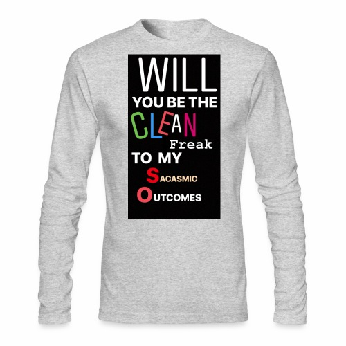 CHANDLER PROPOSES - Men's Long Sleeve T-Shirt by Next Level