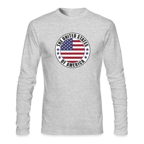 The United States of America - USA - Men's Long Sleeve T-Shirt by Next Level