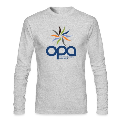 Long-sleeve t-shirt with full color OPA logo - Men's Long Sleeve T-Shirt by Next Level