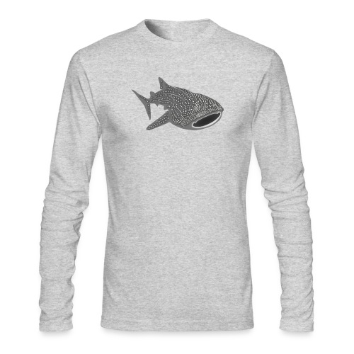 save the whale shark sharks fish dive diver diving - Men's Long Sleeve T-Shirt by Next Level