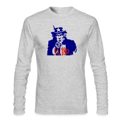 uncle-sam-1812 - Men's Long Sleeve T-Shirt by Next Level