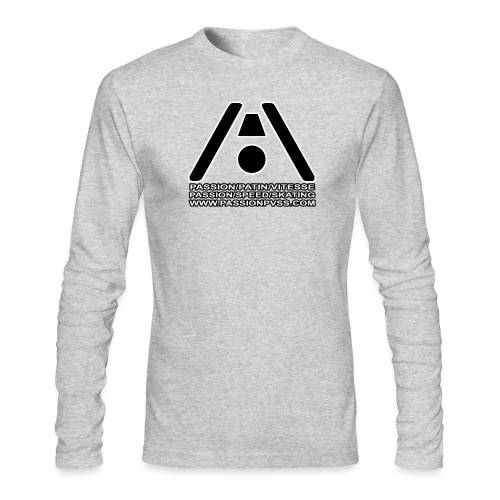 Passion / Skate / Speed - Passion / Speed / Skating - Men's Long Sleeve T-Shirt by Next Level