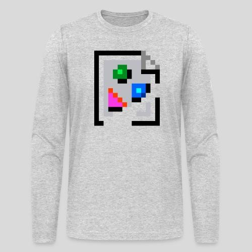 Broken Graphic / Missing image icon Mug - Men's Long Sleeve T-Shirt by Next Level