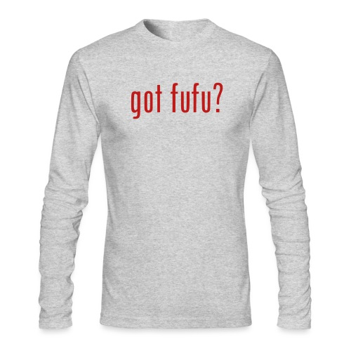 gotfufu-black - Men's Long Sleeve T-Shirt by Next Level