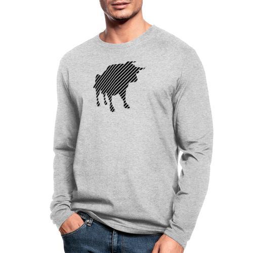 bulgebull_animal - Men's Long Sleeve T-Shirt by Next Level