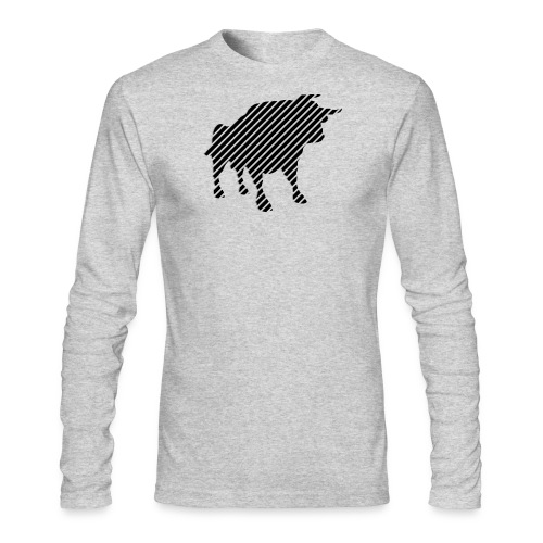 bulgebull_animal - Men's Long Sleeve T-Shirt by Next Level