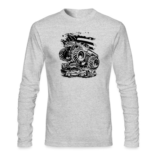 Monster Truck USA - Men's Long Sleeve T-Shirt by Next Level