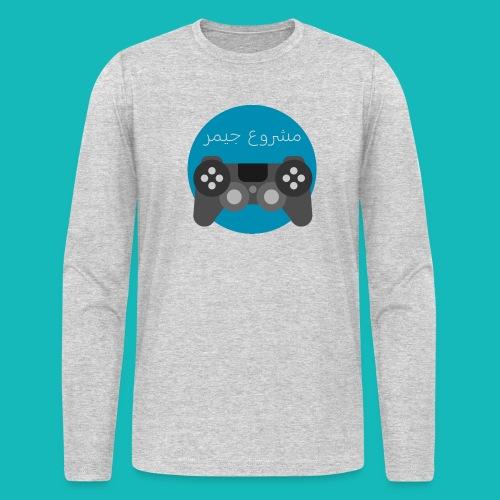 Mashrou3 Gamer Logo Products - Men's Long Sleeve T-Shirt by Next Level