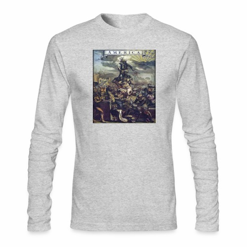 This Is America - Men's Long Sleeve T-Shirt by Next Level