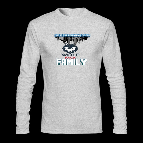 We Are Linked As One Big WolfPack Family - Men's Long Sleeve T-Shirt by Next Level