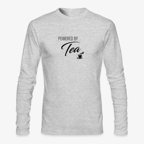Powered by Tea - Men's Long Sleeve T-Shirt by Next Level