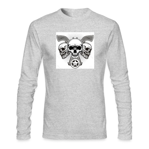 Skulls - Men's Long Sleeve T-Shirt by Next Level