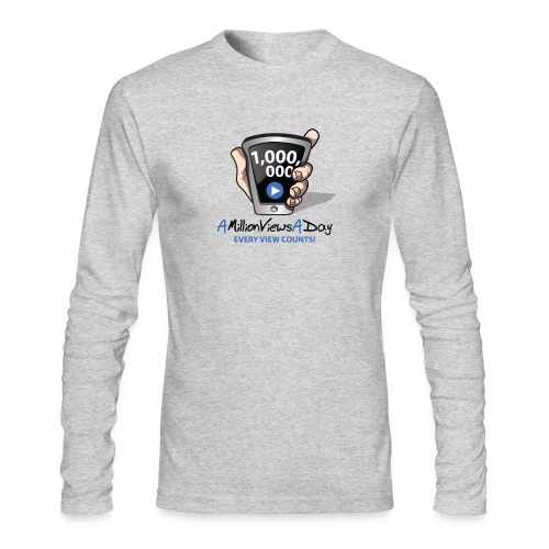 AMillionViewsADay - every view counts! - Men's Long Sleeve T-Shirt by Next Level