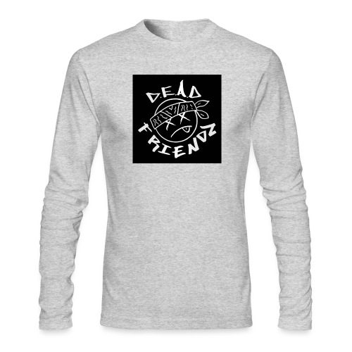 D.E.A.D FRIENDZ Records - Men's Long Sleeve T-Shirt by Next Level