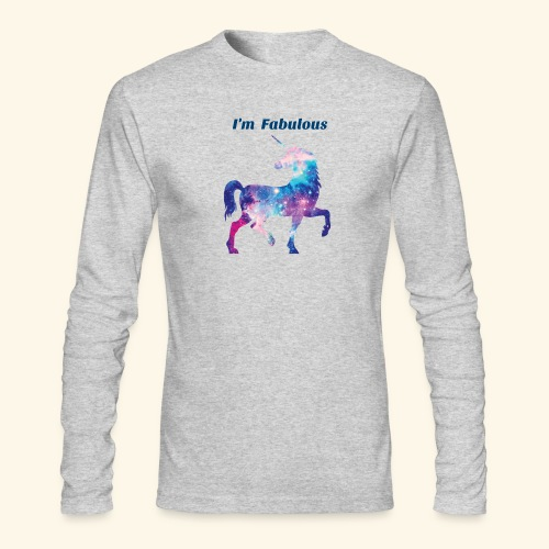 I'm Fabulous Unicorn - Men's Long Sleeve T-Shirt by Next Level