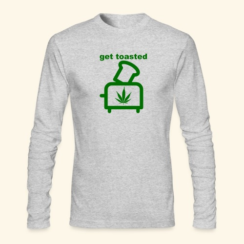 GET TOASTED - Men's Long Sleeve T-Shirt by Next Level
