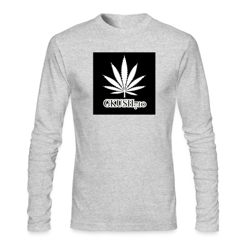 Weed Leaf Gkush710 Hoodies - Men's Long Sleeve T-Shirt by Next Level