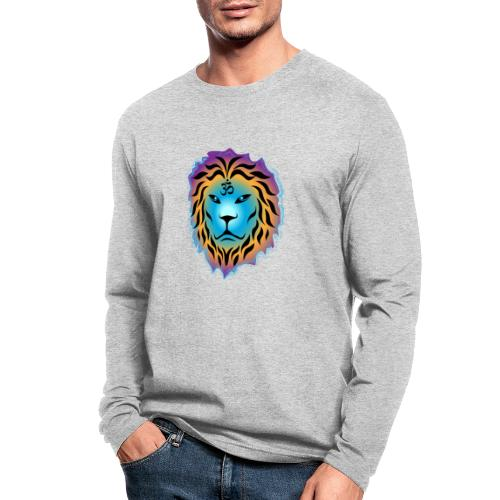 Zen Lion - Men's Long Sleeve T-Shirt by Next Level