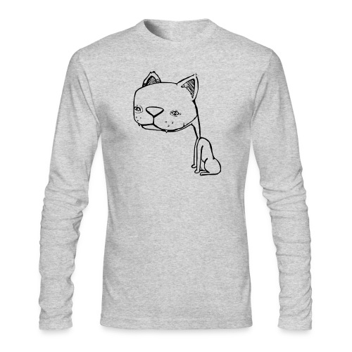 Meowy Wowie - Men's Long Sleeve T-Shirt by Next Level
