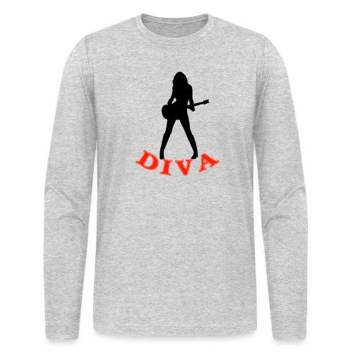 Rock Star Diva - Men's Long Sleeve T-Shirt by Next Level