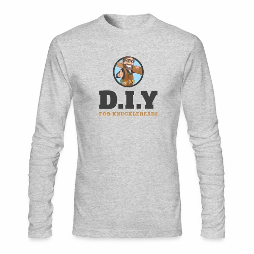 DIY For Knuckleheads Logo - Men's Long Sleeve T-Shirt by Next Level