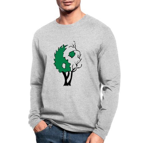 Yin Yang Tree - Men's Long Sleeve T-Shirt by Next Level