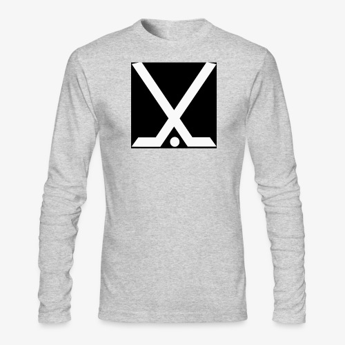 Hockey Logo - Men's Long Sleeve T-Shirt by Next Level