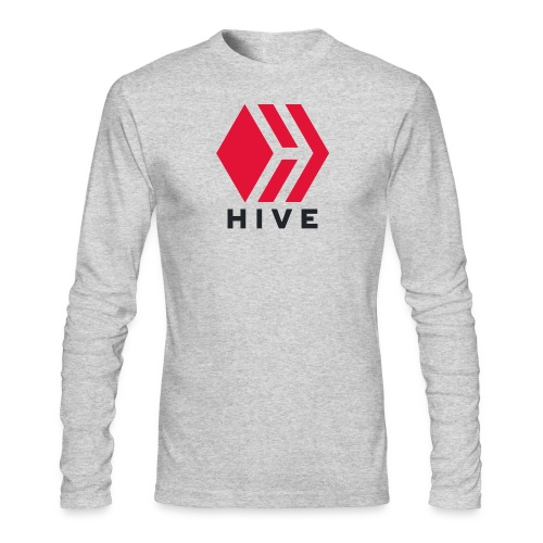 Hive Text - Men's Long Sleeve T-Shirt by Next Level