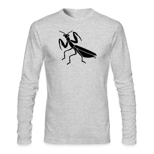 praying mantis bug insect - Men's Long Sleeve T-Shirt by Next Level