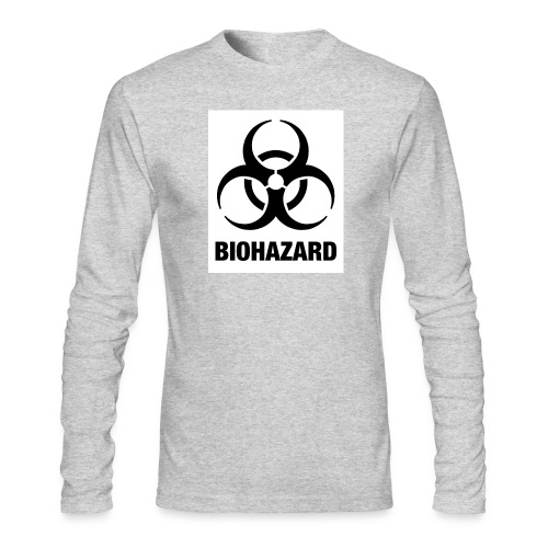 Biohazard - Men's Long Sleeve T-Shirt by Next Level