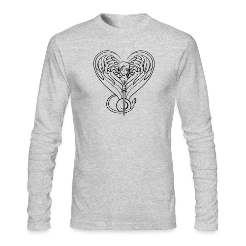 Sphinx valentine - Men's Long Sleeve T-Shirt by Next Level