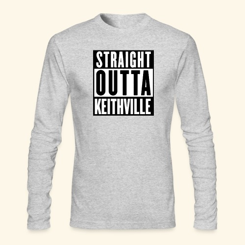 STRAIGHT OUTTA KEITHVILLE - Men's Long Sleeve T-Shirt by Next Level