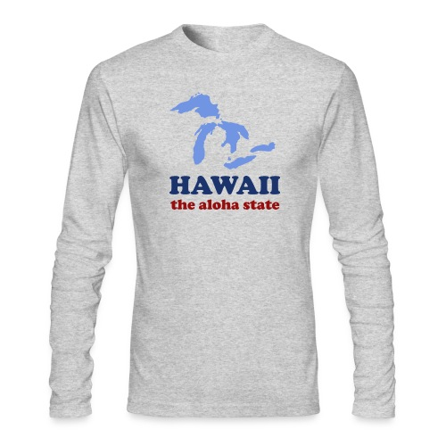 Geographically Impaired - Men's Long Sleeve T-Shirt by Next Level