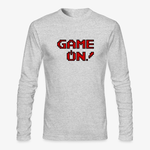 Game On.png - Men's Long Sleeve T-Shirt by Next Level