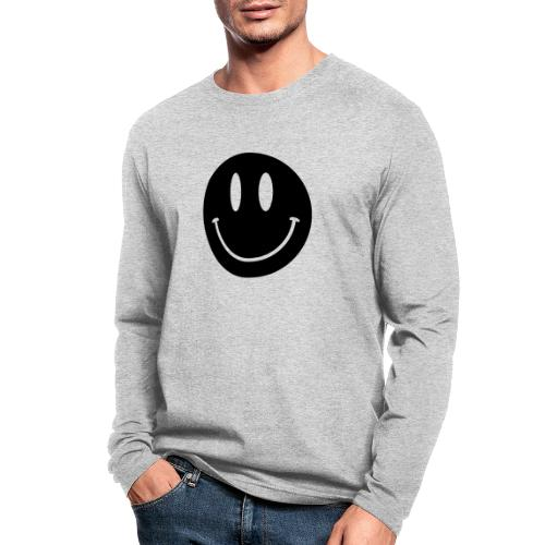 Smiley - Men's Long Sleeve T-Shirt by Next Level