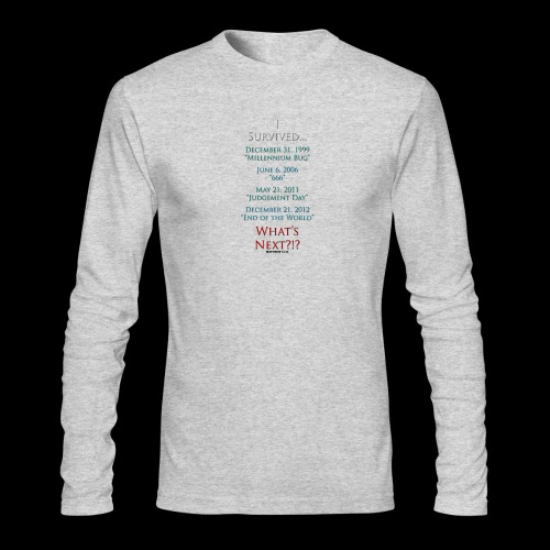 Survived... Whats Next? - Men's Long Sleeve T-Shirt by Next Level
