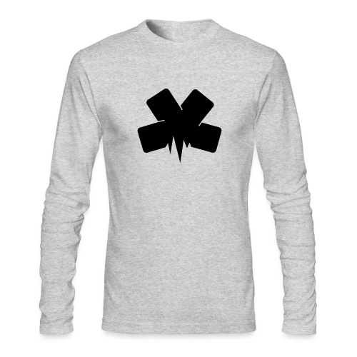 PixelSashay - Black Logo - Men's Long Sleeve T-Shirt by Next Level