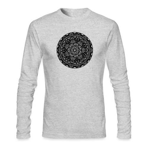 Circle No.2 - Men's Long Sleeve T-Shirt by Next Level
