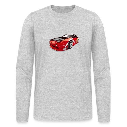 cars drift - Men's Long Sleeve T-Shirt by Next Level