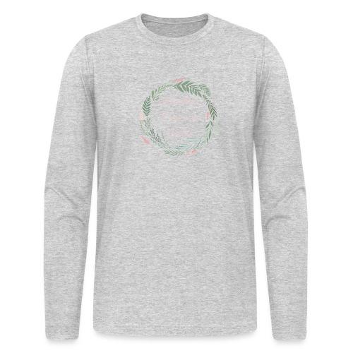 LOD Flower Wreath 1 - Men's Long Sleeve T-Shirt by Next Level